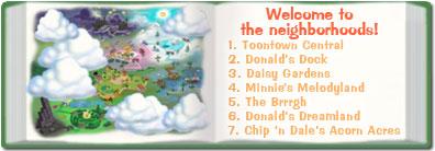 Neighborhoods in the Shticker Book