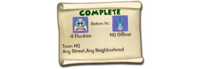 Completed ToonTasks