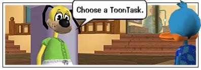 Choosing a ToonTasks